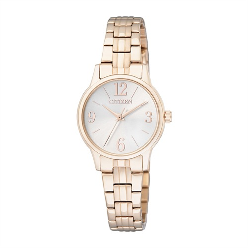 Citizen Basic Uhr für Damen in roségold  EX0293-51A