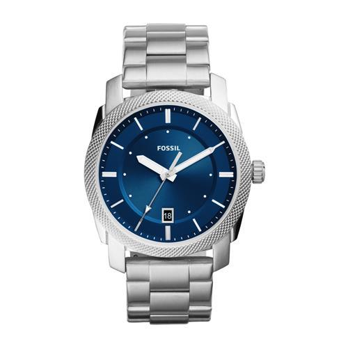 Men's Stainless Steel Machine Watch