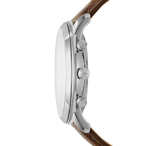Herrenchronograph Neutra Leder braun