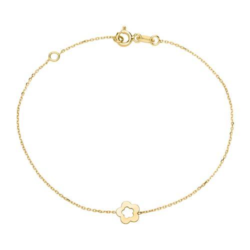 Armbaender für Frauen - Armband Blume für Damen aus 375er Gold  - Onlineshop The Jeweller