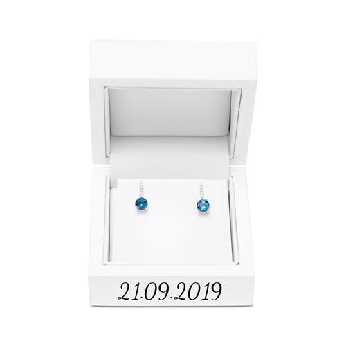 Premium Etui für Ohrringe mit Gravuroption