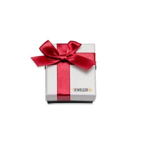 Etui für einen Ring mit roter Geschenkschleife