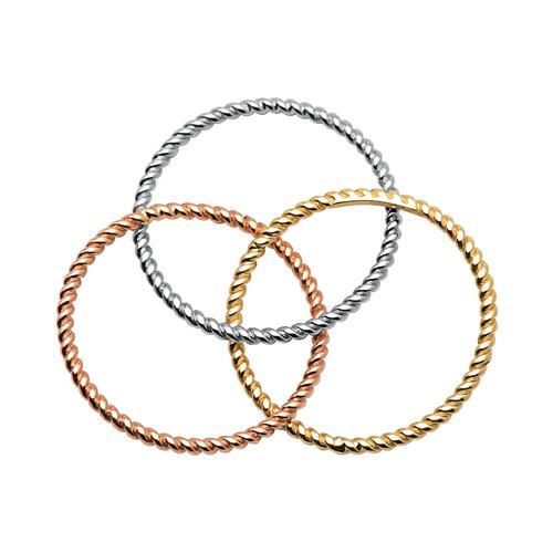 Ring-Set aus 333er Gold