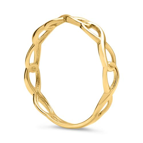 Ring Unendlichkeitssymbol 333er Gold