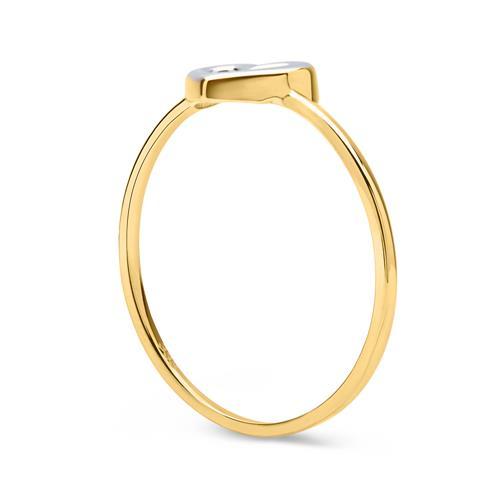 Filigraner 333er Gold Herz Ring