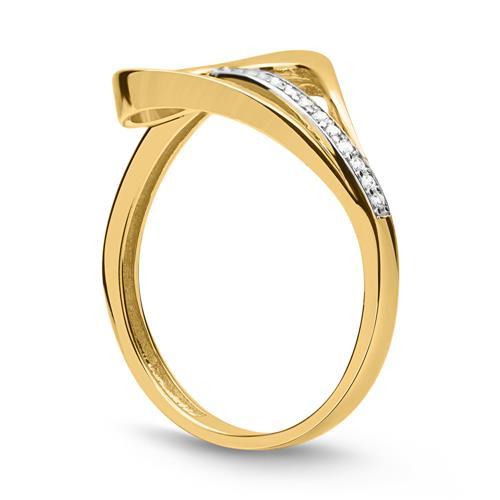 333er Gold Ring mit schönem Herz
