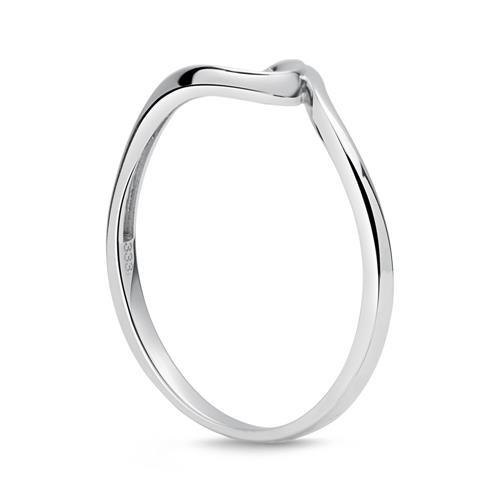 Eleganter Ring 333er Gold Wellenform