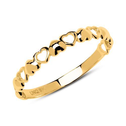 Ring Herzen aus 333er Gold GR0171