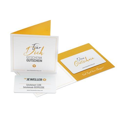 Geschenkgutschein 5,- EUR mit persönlicher Grußkarte