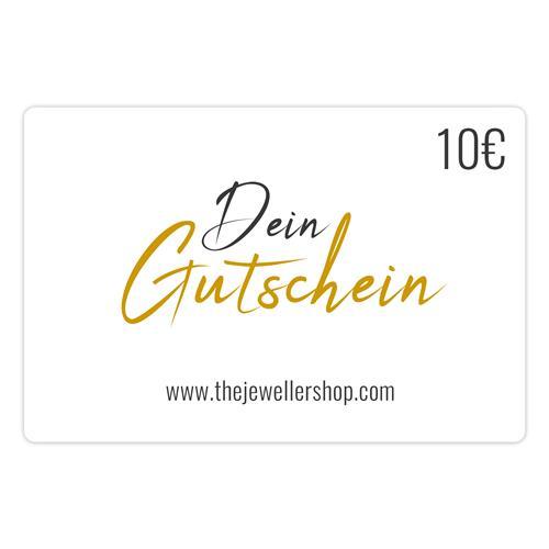Geschenkgutschein 10,- EUR mit persönlicher Grußkarte