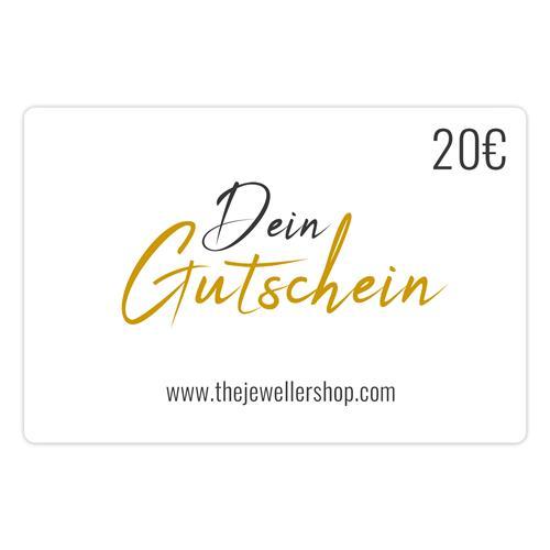 Geschenkgutschein 20,- EUR mit persönlicher Grußkarte