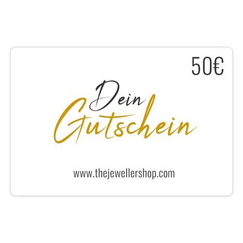 Geschenkgutschein 50,- EUR mit persönlicher Grußkarte