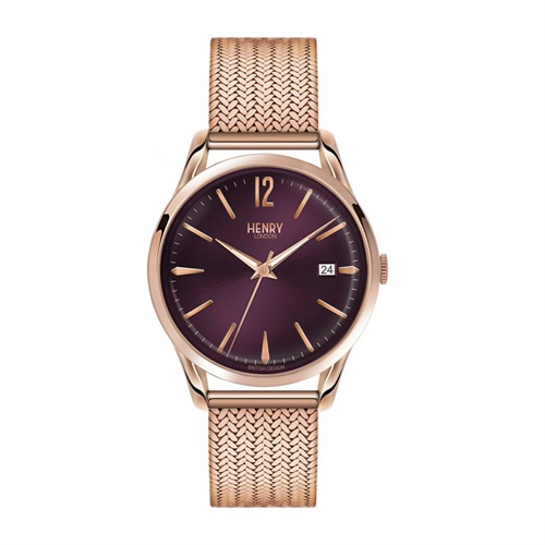 Henry London Hampstead Milanaise roségold HL39-M-0078