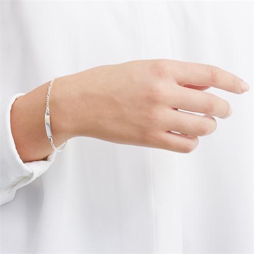 925er Silberarmband Gravur
