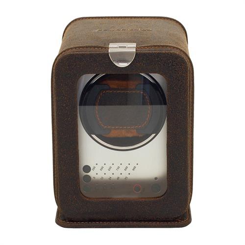 Uhrenbeweger Cubano für 1 Automatikuhr braun