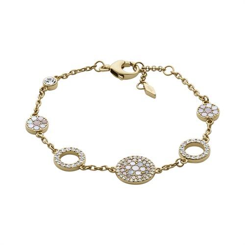 Armband goldenem Edelstahl
