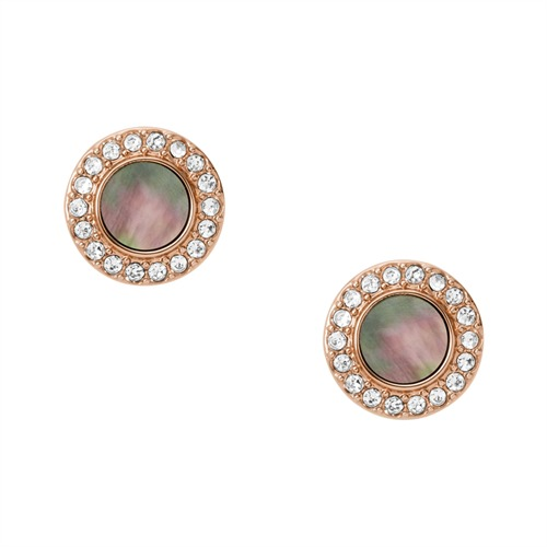 Ohrstecker Gray Mother of Pearl Glitz Studs