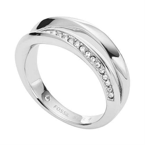 Ring Classic Twist für Damen aus Edelstahl