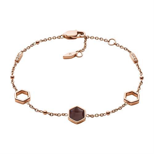 Armband Classics aus rosévergoldetem Edelstahl