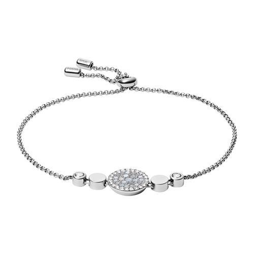 Gravierbares Armband Mosaic aus Edelstahl mit Perlmutt