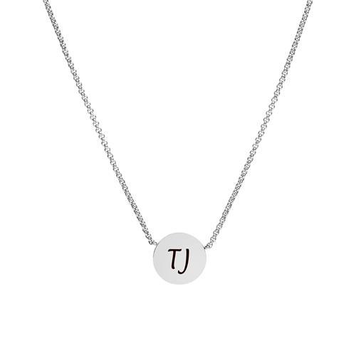 Halskette Mosaic für Damen Edelstahl gravierbar