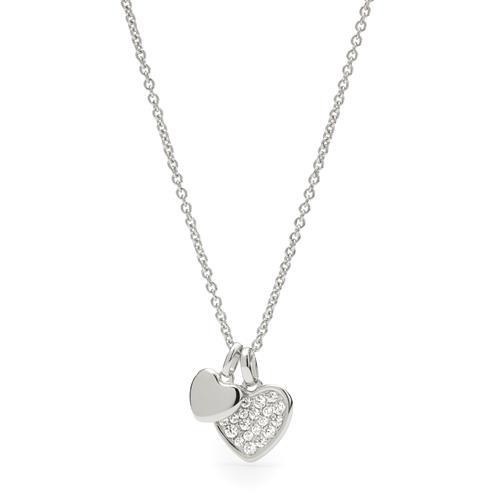 925er Silberkette für Damen mit Herzen gravierbar