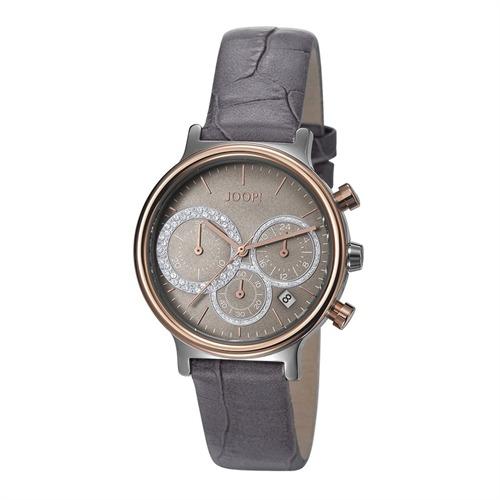 Damenchronograph in grau