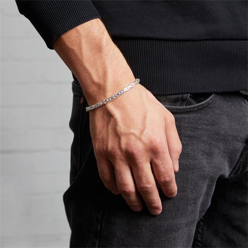 925 Silberarmband: Königsarmband Silber 4,5mm