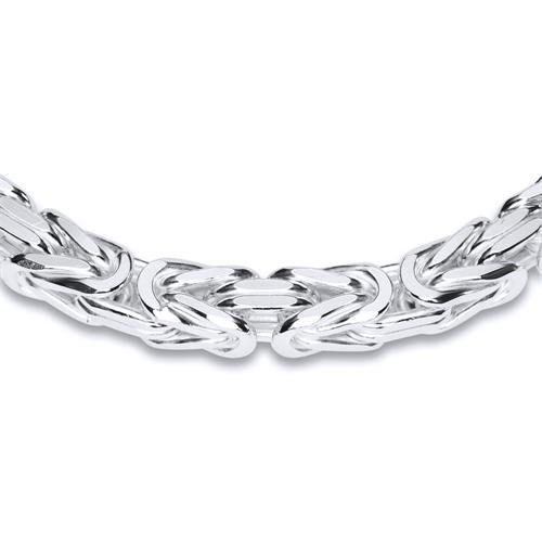 925 Silberarmband: Königsarmband Silber 6mm