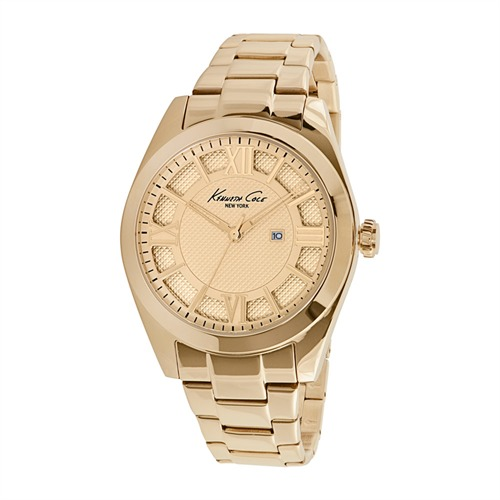 Kenneth Cole Damenuhr Dress Sport Goldfinish KC10023857