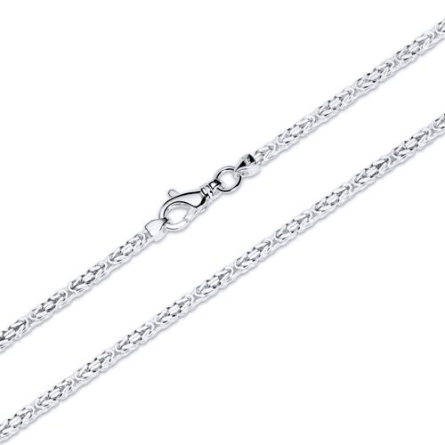 925 Silberkette: Königskette Silber 2,5mm
