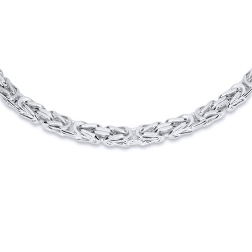 925 Silberkette: Königskette Silber 3,5mm