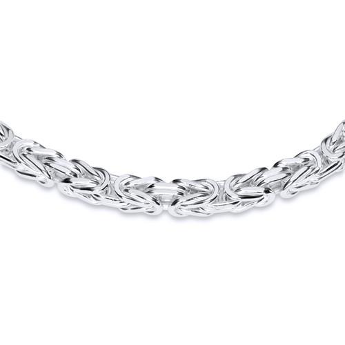 925 Silberkette: Königskette Silber 4,5mm