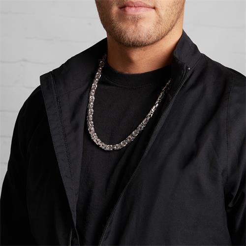 925er Silber Königskette für Herren, 7,5 mm