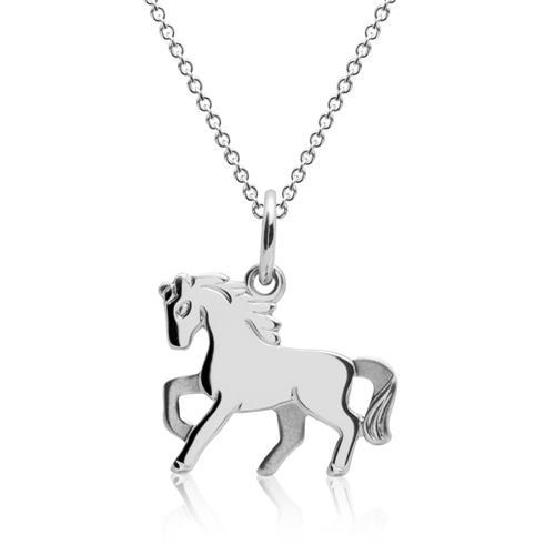 Pferdekette für Kinder 925 Silber