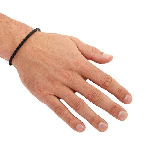 Exklusives Armband echtes Leder 3,5 mm