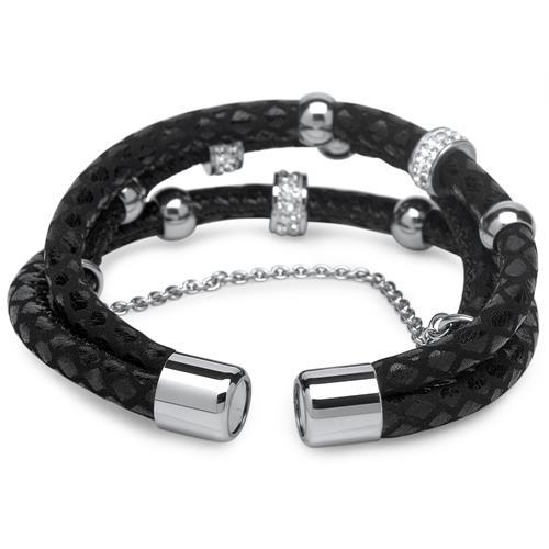 Charm Armband mit 3 Strähnen und Charms