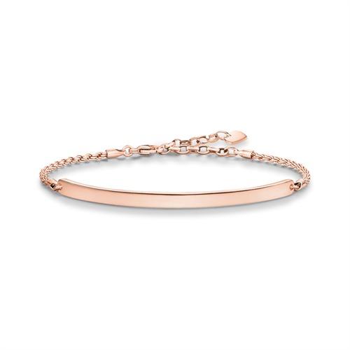 THOMAS SABO Armband Silber Rosé LBA0008 415 12 SL