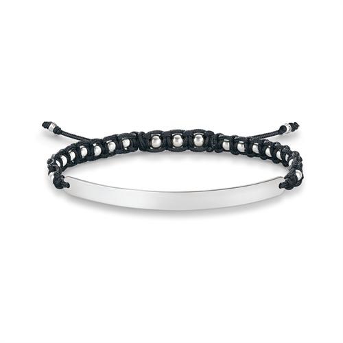 thomas sabo armband mit gravurplatte lba0051. Black Bedroom Furniture Sets. Home Design Ideas