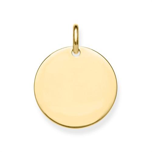 Anhänger Silber vergoldet