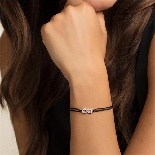 Textil Armband Infinity