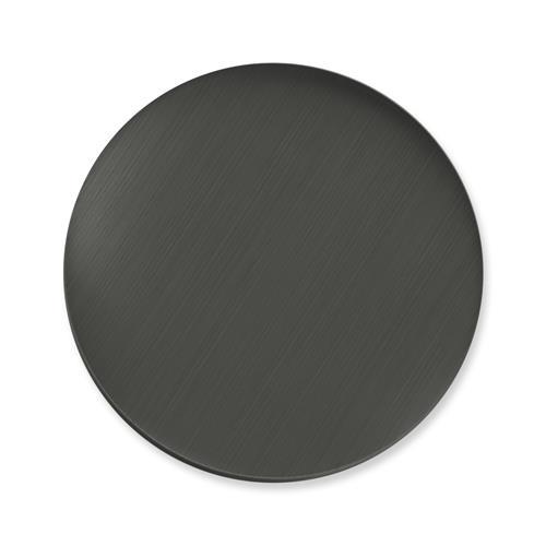 Einsatz Münzanhänger Katzenauge grau
