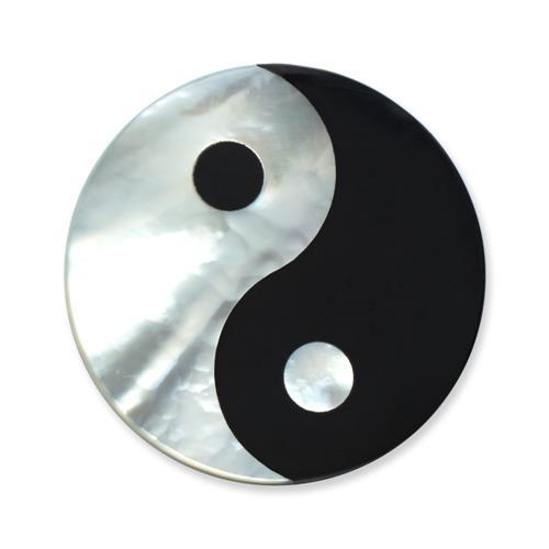 Einsatz Münzanhänger Yin und Yang