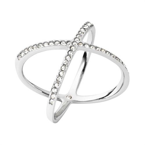 Cross Ring Edelstahl poliert MICHAEL KORS MKJ4136040
