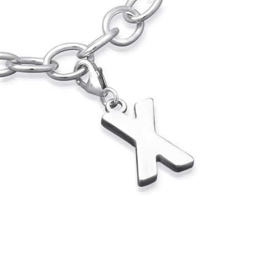 925 Silber Buchstaben Charm