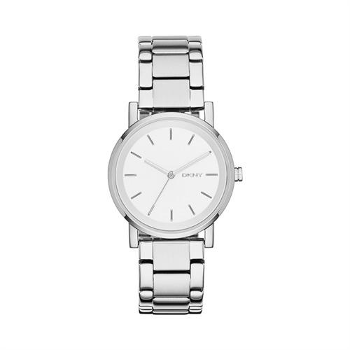 Armbanduhr für Damen mit Quarzuhrwerk