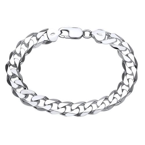 925 Silberarmband: Panzerarmband Silber 9,5mm