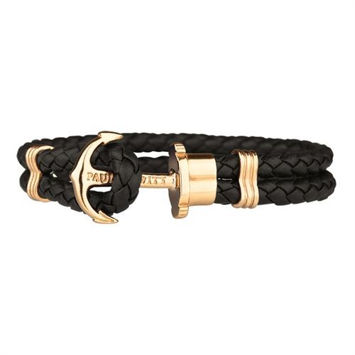 Phrep Armband Leder gold