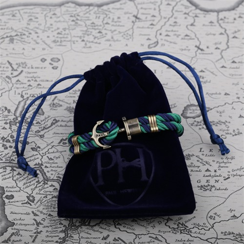 Phrep Anker Armband Blau-Weiss