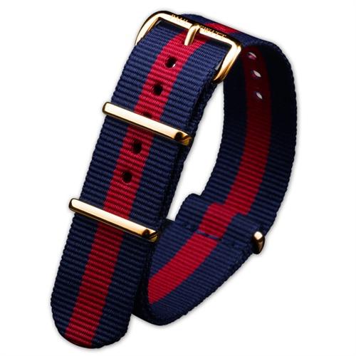 Armband für Uhren rot blau